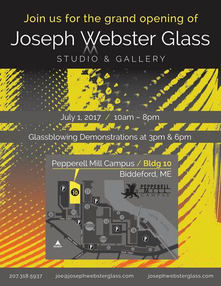 Joseph Webster Glass Studio and Gallery